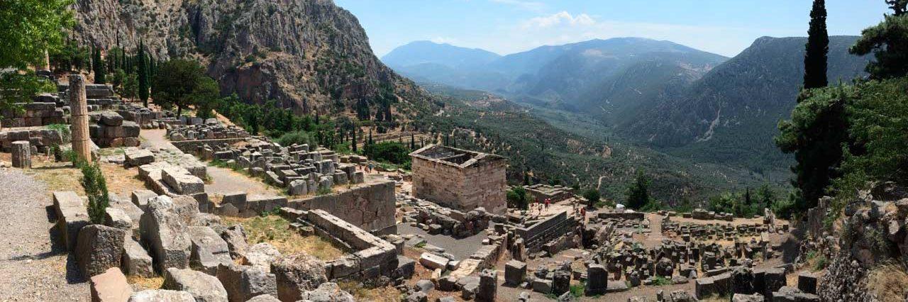 Fincia - temple de Delphes